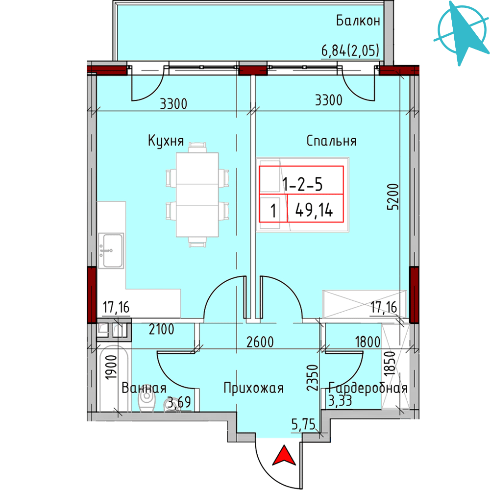 Image flat plan