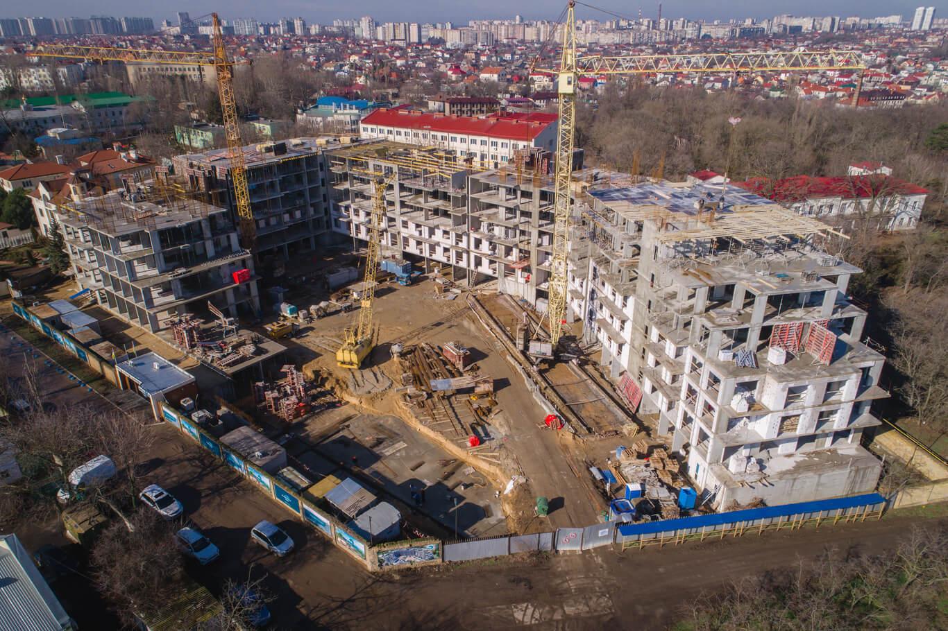 Новость Свежий отчет со строительной площадки MARINST residence, фото
