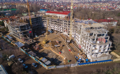 News New report from MARINIST residence construction site, photo