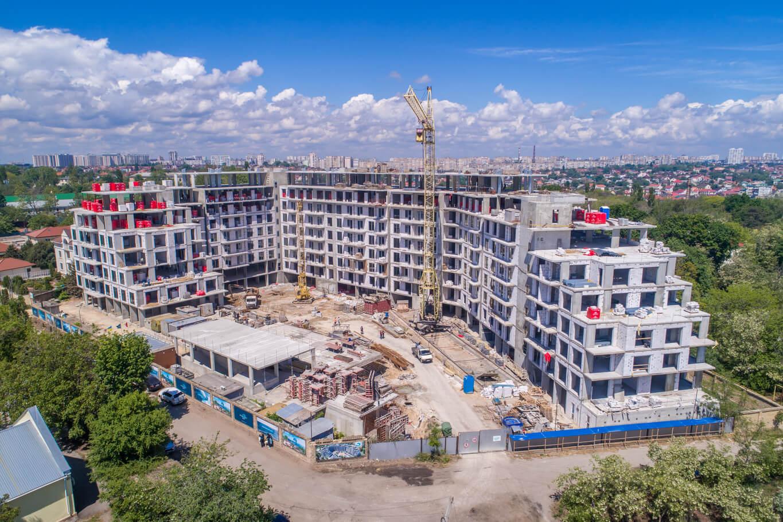 Новость Ход строительства MARINIST residence — Май 2020, фото
