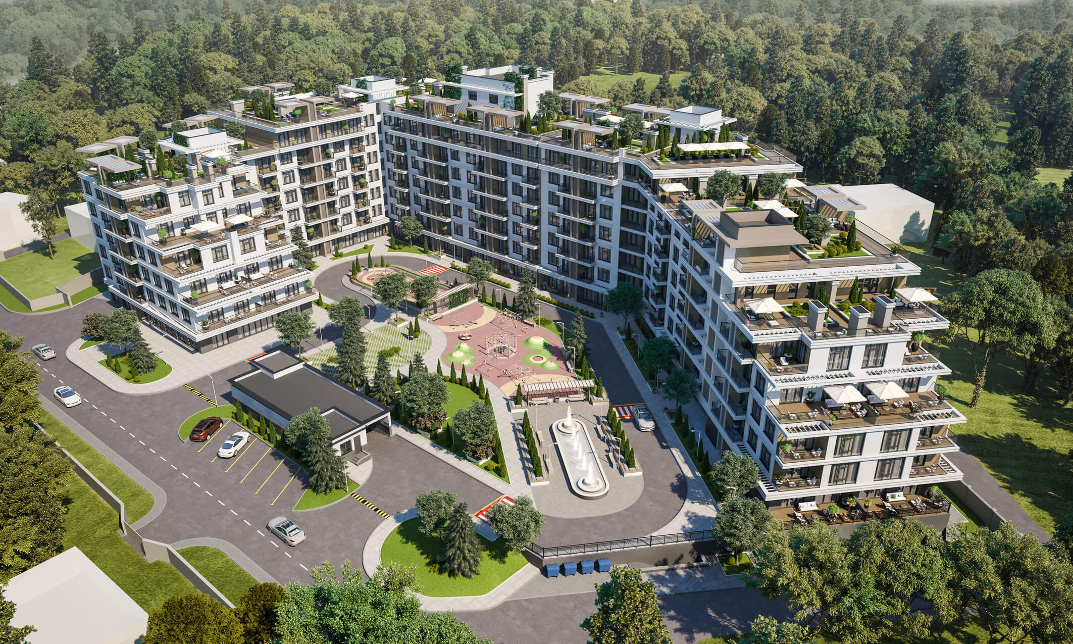 News Commercial real estate at MARINIST residence, photo